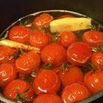 Syltede cherrytomater